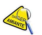 logo danger amiante